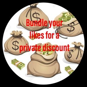 Bundle your like for a private discount